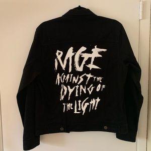 G-Eazy Small Black Denim Jacket